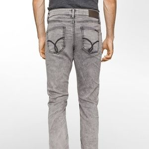 Ck Jeans sculpted Massa Grey Stretch slim fit